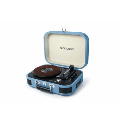 MUSE MT-201BTB kék színű lemezjátszó