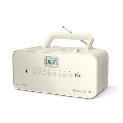 MUSE M-30BTN Elefántcsont színű Rádió, CD, MP3 lejátszó