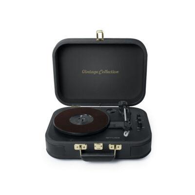 MUSE MT-302GD fekete színű lemezjátszó
