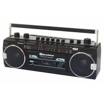 ROADSTAR RCR-3025EBT-BK Kazettás rádió