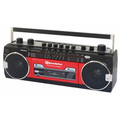 ROADSTAR RCR-3025EBT-RD Kazettás rádió