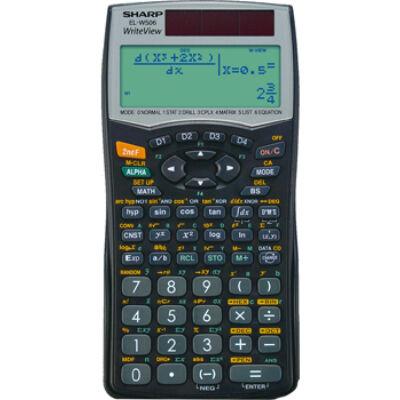 Sharp EL-W506B számológép